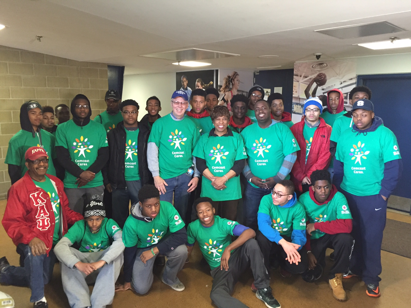 Kappa League  at Comcast Cares Day