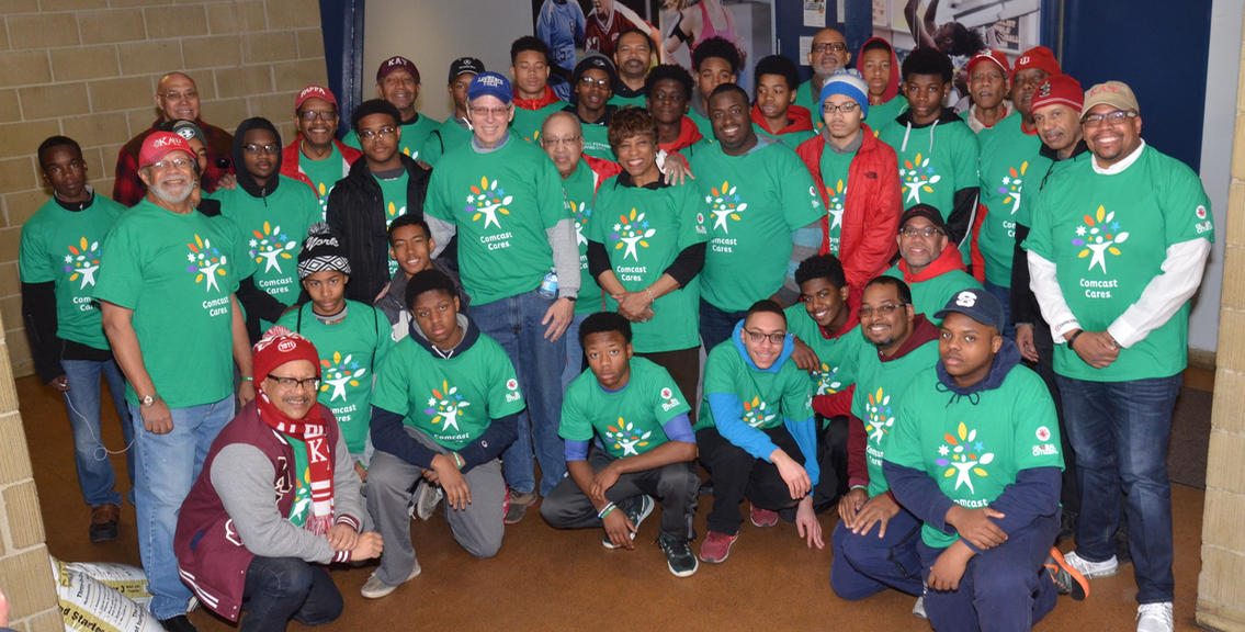 Kappa's Foundation at Comcast Cares Day